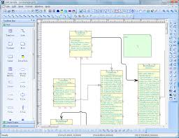 visio like diagram drawing tool with vc   source codeuml sample