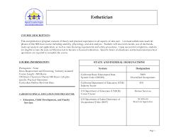 esthetician resume sample job and resume template esthetician cover letter sample