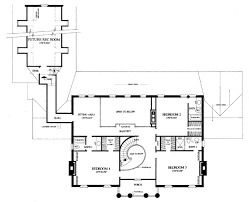 House Plan at FamilyHomePlans comColonial Plantation Southern House Plan Level Two