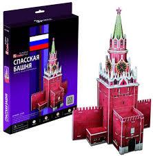 Купить <b>Cubic Fun Спасская башня</b> (Россия) в Москве: цена Cubic ...
