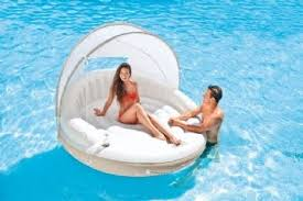 <b>Intex Canopy Island</b> bad-ö | Pool floats, Simbassäng, Pool