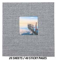 Nikswap Self Adhesive Photo Album, 40 Pages ... - Amazon.com