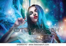 <b>Beautiful Halloween witch</b> portrait. <b>Sexy</b> model girl with <b>Halloween</b> ...