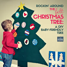 A <b>DIY Felt Christmas</b> Tree Your Toddler Can Tear Apart ~ Mighty ...
