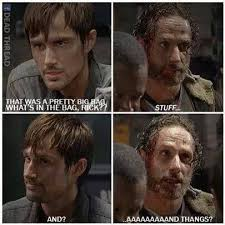 Best Memes from Season 5 of 'The Walking Dead' via Relatably.com