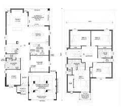 Double Storey Homes Perth   Narrow Lot Homes PerthNorthwood floor plan