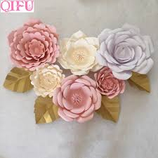 20cm <b>30cm 40cm</b> Giant <b>Paper</b> Flower Wall Decor Home <b>Diy</b> ...