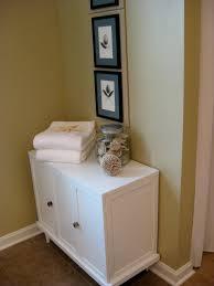 corner linen cabinet