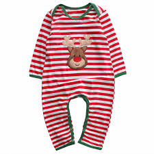 <b>Oklady</b> 3PC Newborn <b>Baby Girl Clothes</b> Christmas Long Sleeved ...