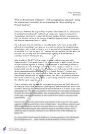 essay on the responsibility to protect  laws   international  essay on the responsibility to protect