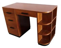 brown lacquer mahogany wood desk with drawers and bookshelf tmlf awesome oak corner laptop desk
