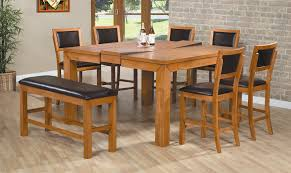 Dining Room Tables Reclaimed Wood Wood And Steel Dining Table And Square Brown Wooden Expandable