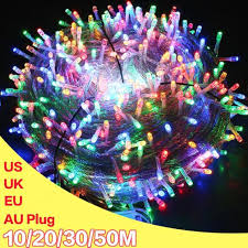 <b>LED String</b> Light AC220V <b>10M</b> Chirstmas Tree Light <b>String Garland</b> ...