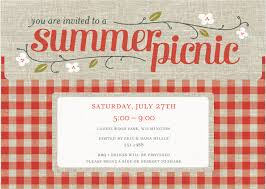 company picnic party invitation template cards karten etc company picnic party invitation template