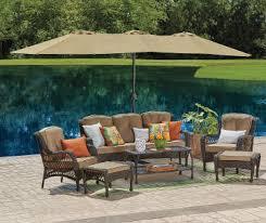 elegant patio furniture. patio furniture elegant cushions heaters on big umbrella
