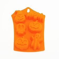 6 Cavity <b>Halloween Silicone Cake</b> Mold Decor Soap Chocolate ...