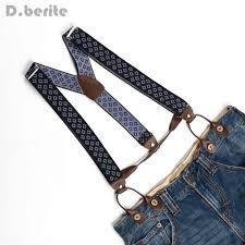 <b>Men</b> Navy Blue Braces Unisex Suspender <b>Women Adjustable</b> ...