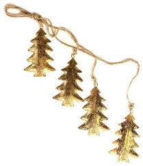 Купить <b>Гирлянда подвесная EnjoyMe Golden</b> Trees, 4 шт. по ...