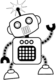 Small Picture Robot coloring pages free printable ColoringStar
