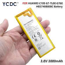 <b>HB3748B8EBC Original</b> Phone Battery 3.8V 3000mAh <b>Li ion</b> Battery ...