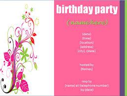 Tips : Free Birthday Invitation Templates - Card Invitation Ideas ... ... Free birthday party invitations online