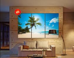 beach wall decor canvas art prints large wall art canvas print palm beach wall decor decor one three five panel office decor beach office decor