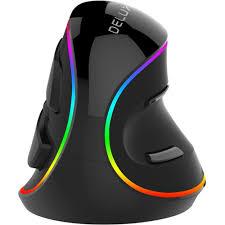 <b>Мышь Delux KM-M618Plus</b> RGB Black проводная