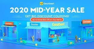 Let's start! 2020 MID-YEAR <b>SALE</b> - GearBest Associate Blog