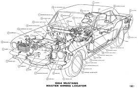 1964 mustang wiring diagrams average joe restoration 1964 mustang master wiring pictorial