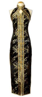 <b>Chinese Brocade Dress</b>-Chic <b>Chinese</b> Pattern <b>Brocade Dress</b> ...