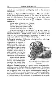page practical treatise on milling and milling machines djvu  the total movement of the crank at every indexing is therefore equal to its movement relative to the plate plus the movement of the plate when the plate
