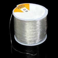 New 100M <b>0.8mm Clear Stretch Elastic</b> Beading Cord String Thread ...