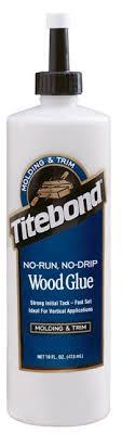 <b>Столярный клей Titebond no</b>-<b>run</b>, no-drip <b>wood glue</b>