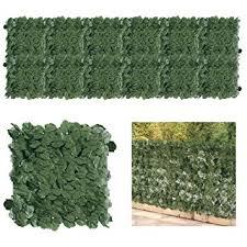 Petgrow <b>Artificial</b> Boxwood <b>Fence</b> Panels <b>Topiary Hedge Plant</b> UV ...
