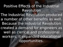 negative effects of the industrial revolution essay  negative effects of the industrial revolution essay