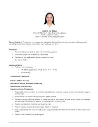 basic resume objective berathen com basic resume objective for a resume objective of your resume 8