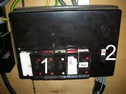 electric main entry fuse box page homes gardens and diy electric main entry fuse box