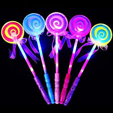 ValianhAgen LED <b>Light</b> Flashing <b>Fairy</b> Magic Wand Princess ...