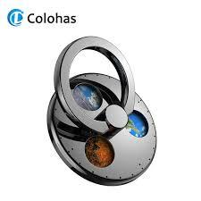 Gyro Metal <b>Phone</b> Ring Holder for <b>iPhone</b> 11 Samsung Huawei 360 ...