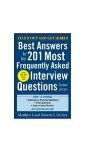 buy best answers to the most frequently asked interview best answers to the 201 most frequently asked interview questions second edition