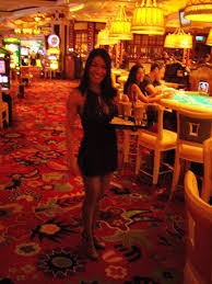 cocktail waitress at the wynn in las vegas by dearestleader