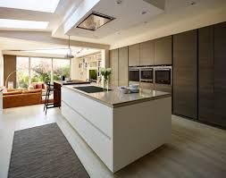 Walnut Floor Kitchen Harrington Walnut Kitchen Bespoke Kitchens Tom Howley