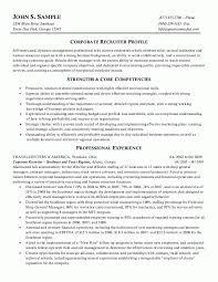 hr or human resources nurse recruiter resume
