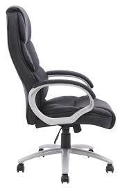 amazoncom bestoffice ergonomic pu leather high back office chair black kitchen dining black office chair