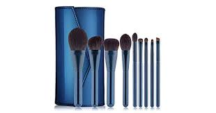 Make up Brush Fine Light Peak Wool Makeup Brush With PU Bag ...