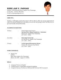 sample resume letter for job application   uhpy is resume in you professional resume sample