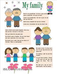 my family essay for kindergarten   essay yellow wallpaper worksheet wallpapersafari my family