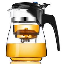 Купить стеклянный <b>заварочный чайник</b> Veitron с кнопкой, 650 мл ...