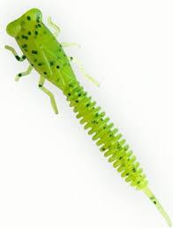 <b>Приманка Fanatik X</b>-<b>Larva</b> 3, 022 (зеленый), 6 шт