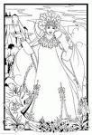 Раскраска из сказки мертвая царевна